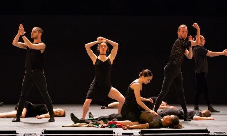 Batsheva Dance Company was presented by the Celebrity Series of Boston at the Boch Center Shubert Theatre. Photo by Robert Torres.
