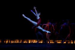 Kathleen Breen Combes in Jorma Elo's 'Sacre du Printemps'. Photo by Rosalie O'Connor, courtesy of Boston Ballet.