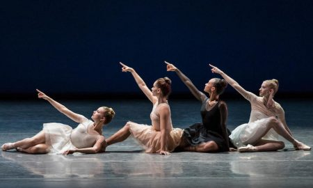 New York City Ballet in Gianna Reisen's 'Composer's Holiday'. Photo by Paul Kolnik.