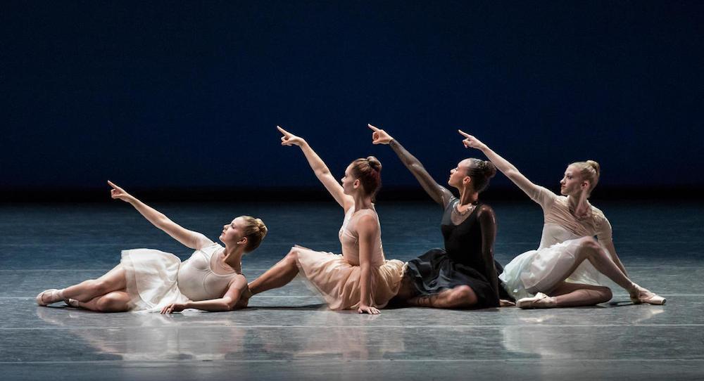 New York City Ballet in Gianna Reisen's 'Composer's Holiday'. Photo by Paul Kolnik.