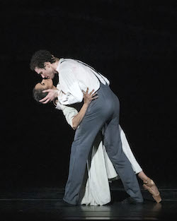 ABT's Misty Copeland and Cory Stearns in 'Jane Eyre'. Photo by Gene Schiavone.