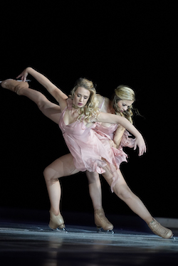 IDI'S Carly Donowick and Erin Reed in Benoit Richaud's 'Reflections'. Photo by David Seelig.