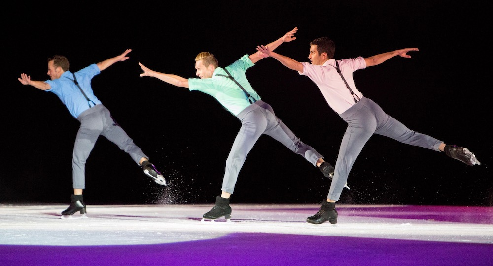 IDI's Joel Dear, Adam Kaplan and Mauro Bruni in Benoit Richaud's 'Take 5'. Photo by 208 Images and Media.