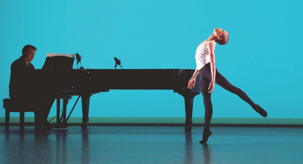 Leroy Mokgatle (gold) at Genée International Ballet Competition. Photo by Elliott Franks and Royal Academy of Dance.