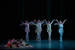 New York City Ballet in George Balanchine's 'A Midsummer Night's Dream'. Photo by Erin Baiano.