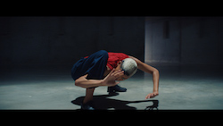 Dancer Najla Gilliam in Jovan Todorivic's film for Samsung, choreographed by Amy Gardner. Direction of Photography by Christophe Collette.