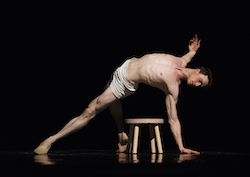 Benjamin Freemantle in Trey McIntyre's 'Your Flesh Shall Be a Great Poem'. Photo by Erik Tomasson.