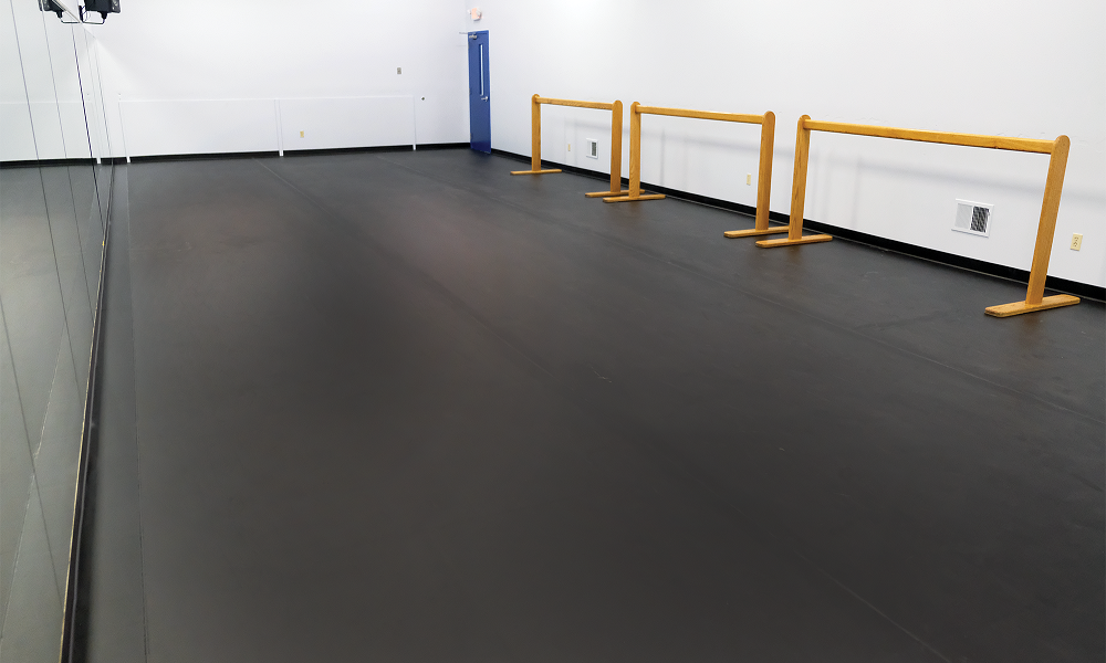 University of Delaware's StageStep dance flooring