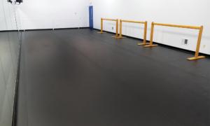 University of Delaware's StageStep dance flooring