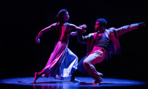 AAADTs Jacqueline Green and Solomon Dumas in Ronald K. Brown's 'The Call'. Photo by Paul Kolnik.