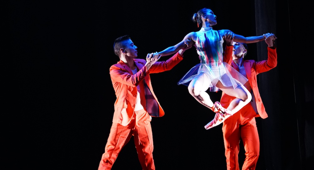 Arch Contemporary Ballet's 'Chromatic Skies'. Photo by Eduardo Patino.