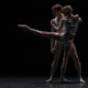 Sarah Lamb and Edward Watson in Wayne McGregor's 'Qualia Pas de Deux'. Photo by Maria Baranova.