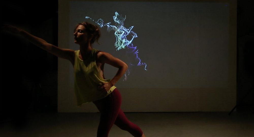 Motion capture. Photo courtesy of Kat Sullivan.