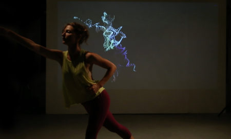 Motion capture. Photo courtesy of Kat Sullivan.