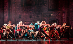 The company of 'Moulin Rouge! The Musical'. Photo by Matthew Murphy.