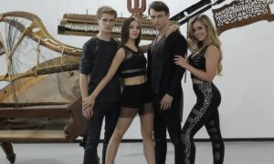 The cast of 'High Strung Free Dance'.