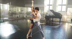 Juliet Doherty and Thomas Doherty in 'High Strung Free Dance'.