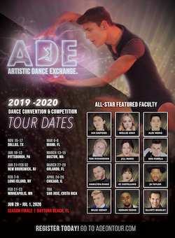 Artistic Dance Exchange Tour Dates.