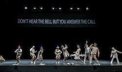 Big Dance Theater in 'The Road Awaits Us'. Photo by Johan Persson.