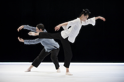 Cristian Laverde-Koenig and Megumi Eda. Photo by Julieta Cervantes.