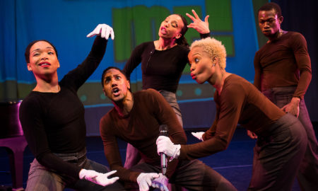 Camille A. Brown & Dancers in 'Mr. TOL E. RancE'. Photo by Christopher Duggan.