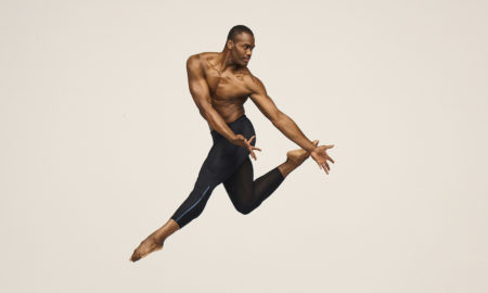 Alvin Ailey American Dance Theater's Jamar Roberts. Photo by Andrew Eccles.