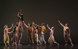 Paul Taylor Dance Company in Margie Gillis' 'Rewilding'. Photo by Whitney Browne.