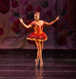 Karla Tyson as Brown Sugar in Ballethnic's 'Urban Nutcracker'. Photo by Sirk Photography.
