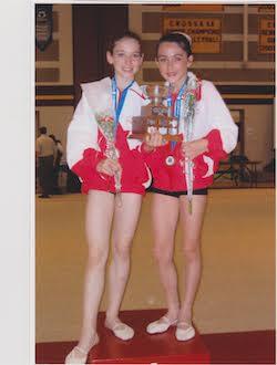 Holly LaRoche and Jaimee Loh. Photo courtesy of LaRoche.