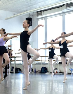 The Youth Program at Steps on Broadway. Photo by Alexandra Fung.