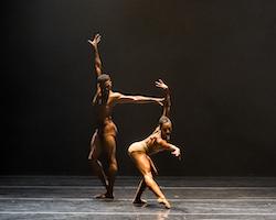 Larissa Gerszke and Jared Brunson in 'Bach 25'. Photo by Sharen Bradford.