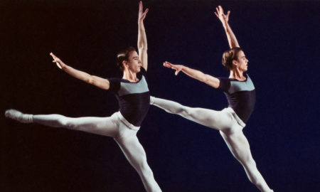 Kurt and Kyle Froman in George Balanchine's 'Kammermusik No. 2'. Photo by Paul Kolnik.