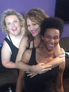 Brooke Wendle (center). Photo courtesy of Wendle.
