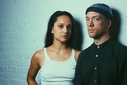Isabel Umali and Dustin Carlson. Photo by Kenneth Jimenez.