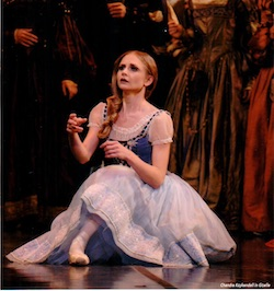 Chandra Kuykendall in 'Giselle'. Photo courtesy of Colorado Ballet.