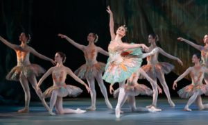 Chandra Kuykendall and artists of Colorado Ballet in 'Don Quixote'. Photo by Mike Watson.