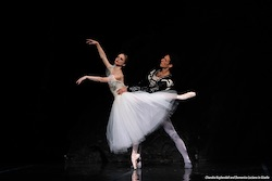 Chandra Kuykendall and Domenico Luciano in 'Giselle'. Photo courtesy of Colorado Ballet.