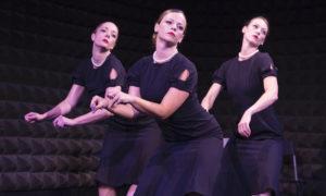 Cleo Mack's 'Arrangement'. Photo courtesy of Dance Now's Dance-mopolitan Encore Series.