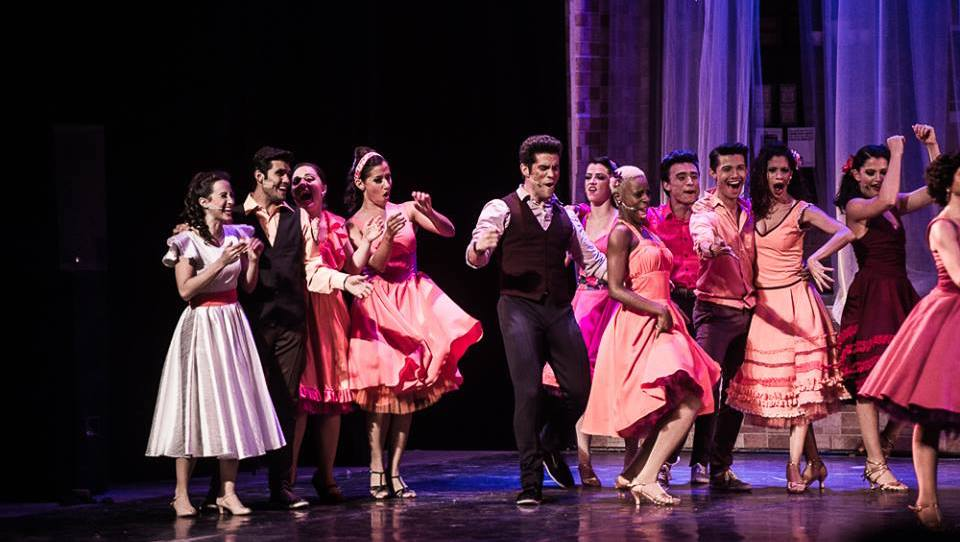 Oscar Rodriguez in 'West Side Story' in Costa Rica. Photo by Luciernaga Productions.