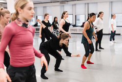 Tracie Stanfield teaching at Broadway Dance Center.