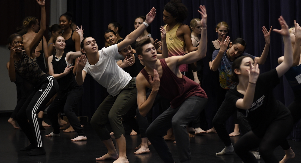 Preprofessional Dancer Institute. Photo by Audrey Derell.