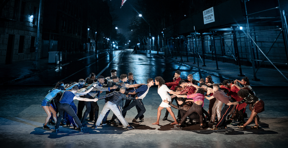 The cast of 'West Side Story'. Photo by Jan Versweyveld.