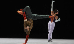 William Forsythe's 'A Quiet Evening of Dance'.