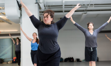 Alexandra Beller teaching. Photo by Scott Shaw.