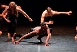 English National Ballet School students. Photo by Laurent Liotardo.