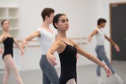 English National Ballet School students. Photo by Arnaud Stephenson