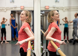 NYCB Associate Artistic Director Wendy Whelan teaching class. Photo by Erin Baiano.