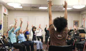AileyDance for Active Seniors at Carnegie East House. Photo by Nicole Tintle.