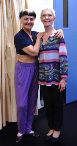 Ernie and Andra Corvino after teaching in NYC. Photo courtesy of the Corvino Archives.