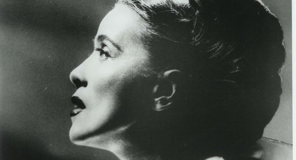 Martha Graham in 'Hérodiade'. Photo by Cris Alexander, circa 1944.